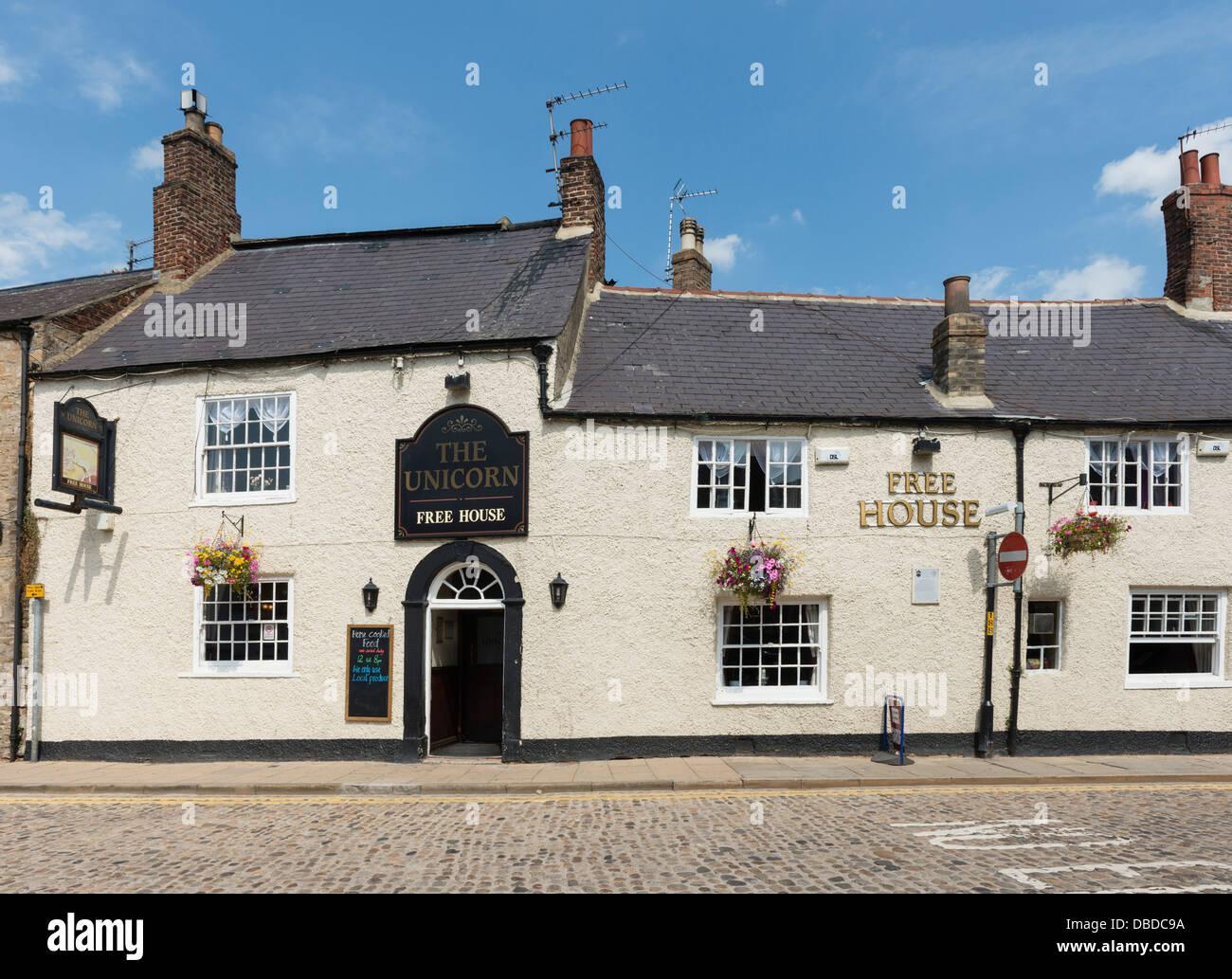 The Unicorn Inn, Richmond, North Yorkshire - Stock Image