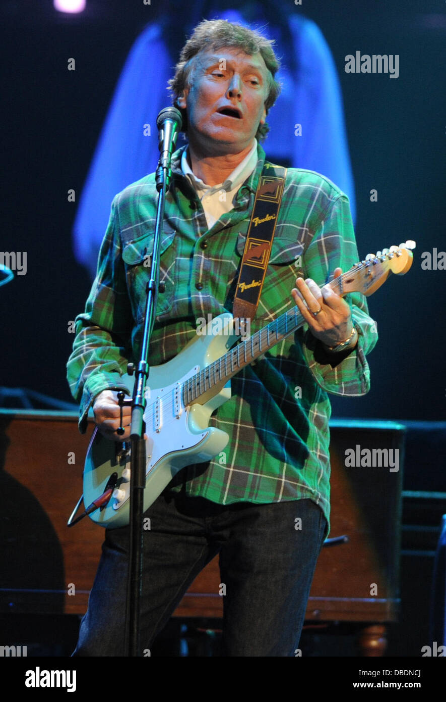 Steve Winwood performs at Royal Albert Hall London, England- 26.05.11 - Stock Image