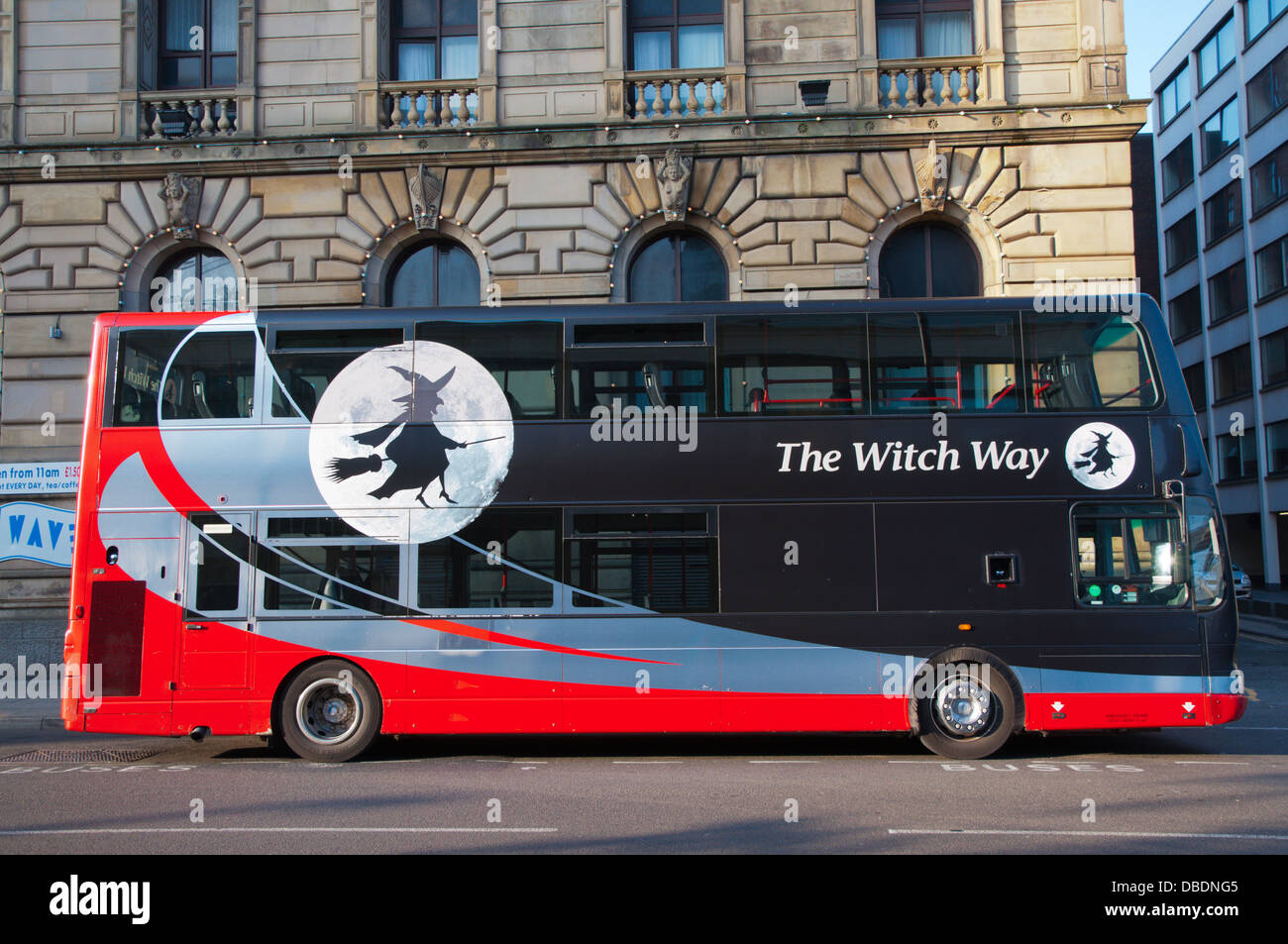 the witch way bus coach company coach manchester england great stock