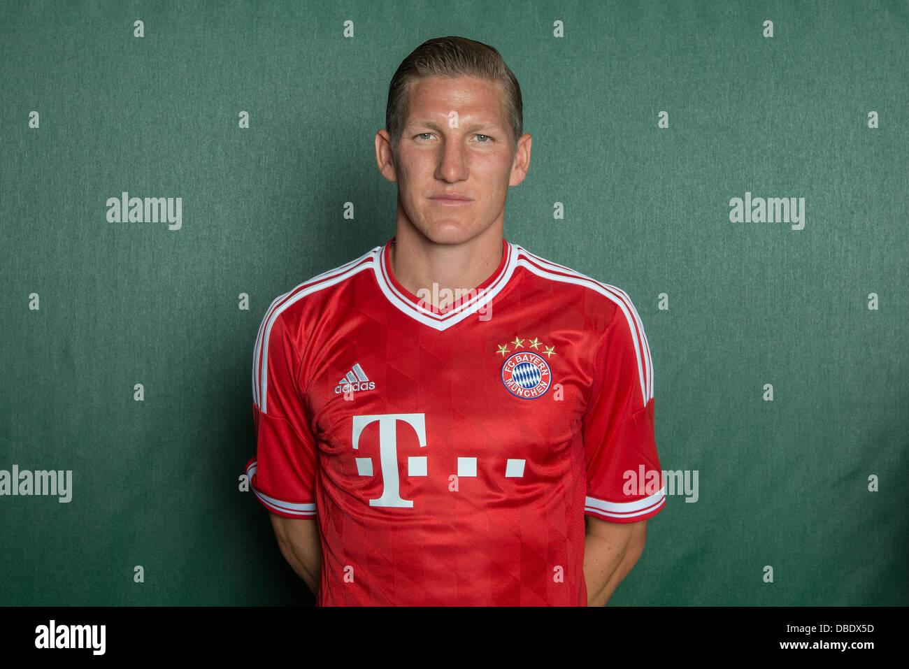 Player Bastian Schweinsteiger of German Bundesliga club FC