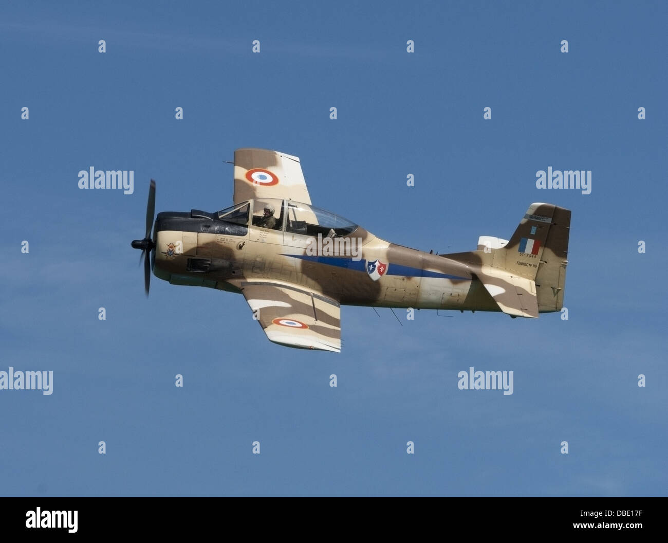 T-28 Fennec - Stock Image