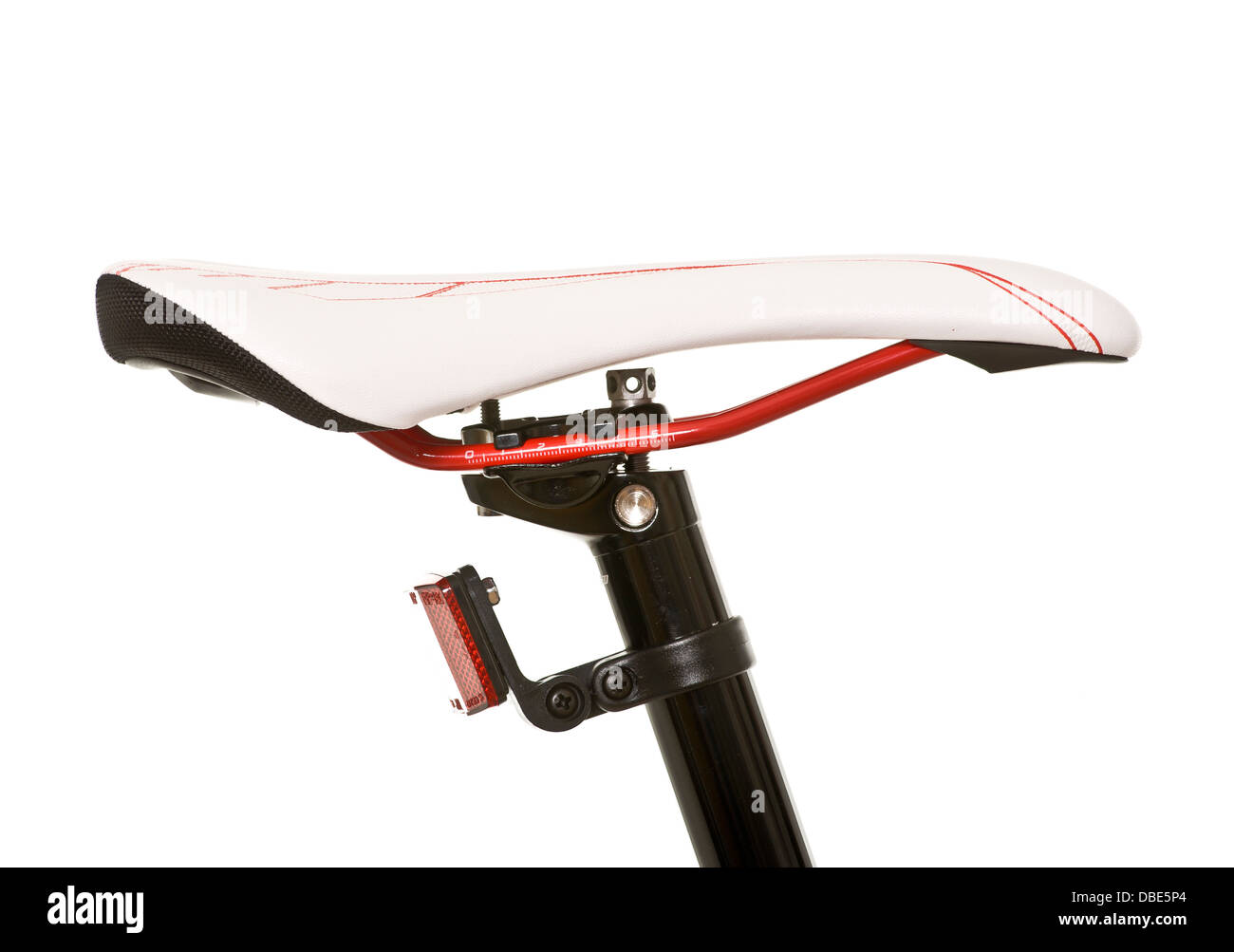 Mountain bike seat - Stock Image