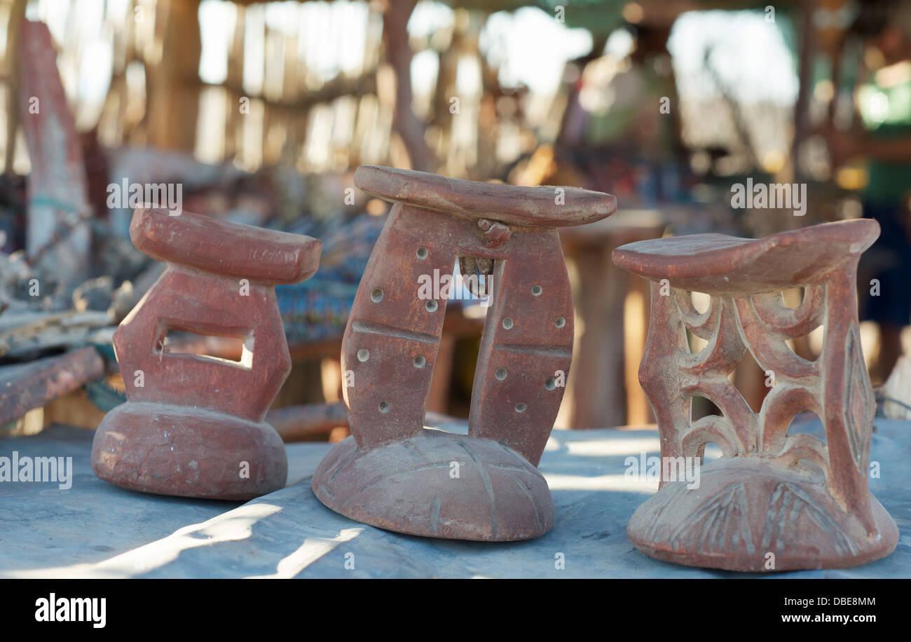 Namibian Crafts - Stock Image