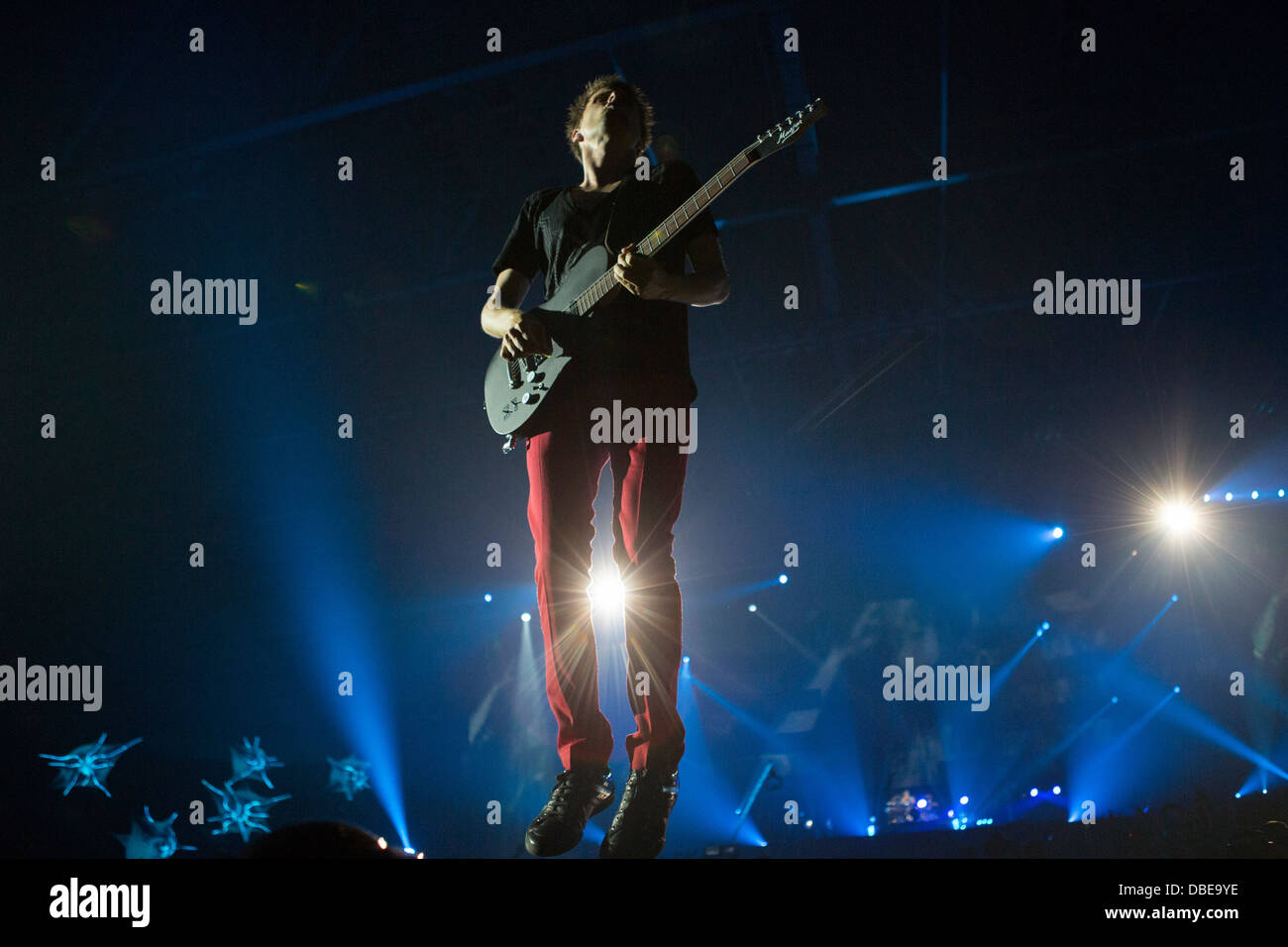 Muse live concert, Telenor Arena, Oslo, Norway - Stock Image