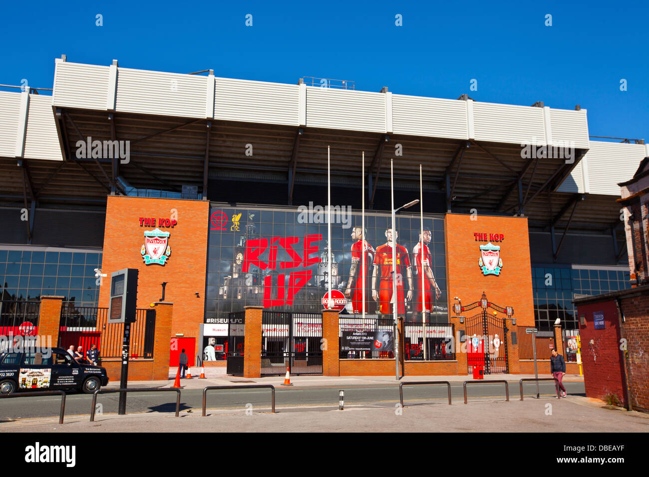 Anfield stadium is home of Liverpool Football Club one of the most  successful English Premier League football clubs 048a87196