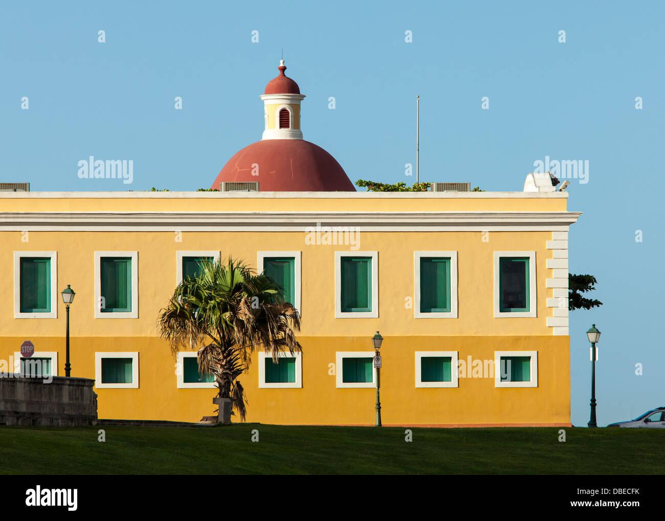 Cuartel de Ballaja in San Juan, Puerto Rico. - Stock Image