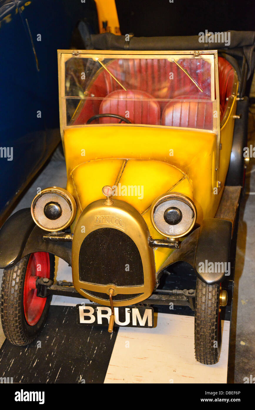 TV 'Brum' car at The Cotswold Motoring Museum, The Old ...