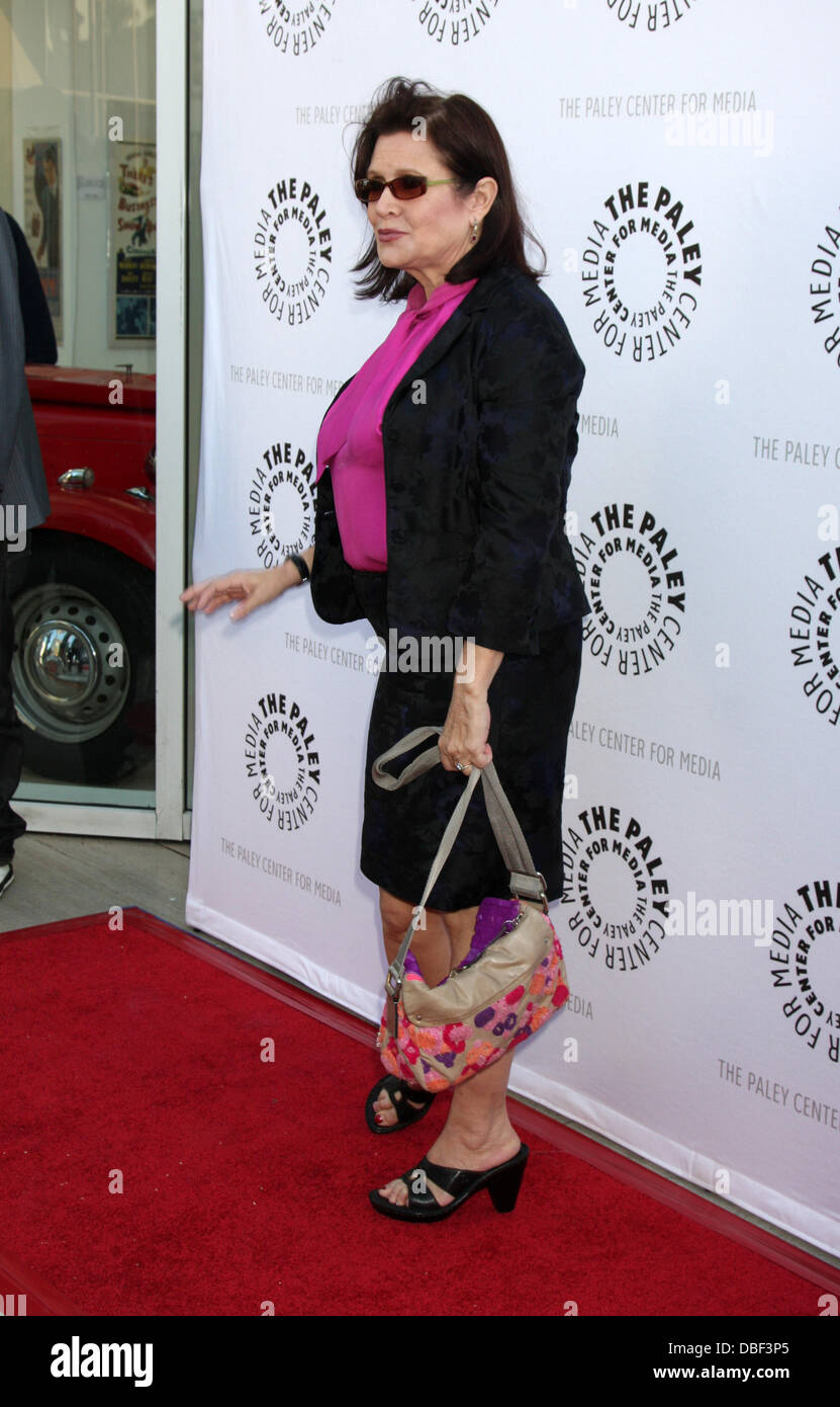 Carrie Fisher The Debbie Reynolds Hollywood Memorabilia Collection Auction Preview at Paley Center - Arrivals Los - Stock Image