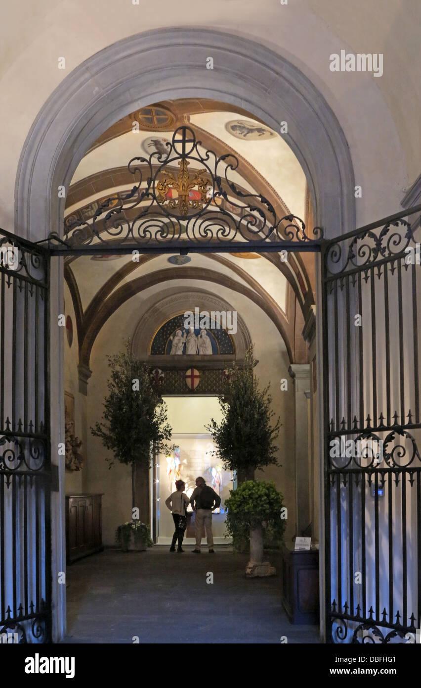 Salvatore Ferragamo store Florence Italy - Stock Image