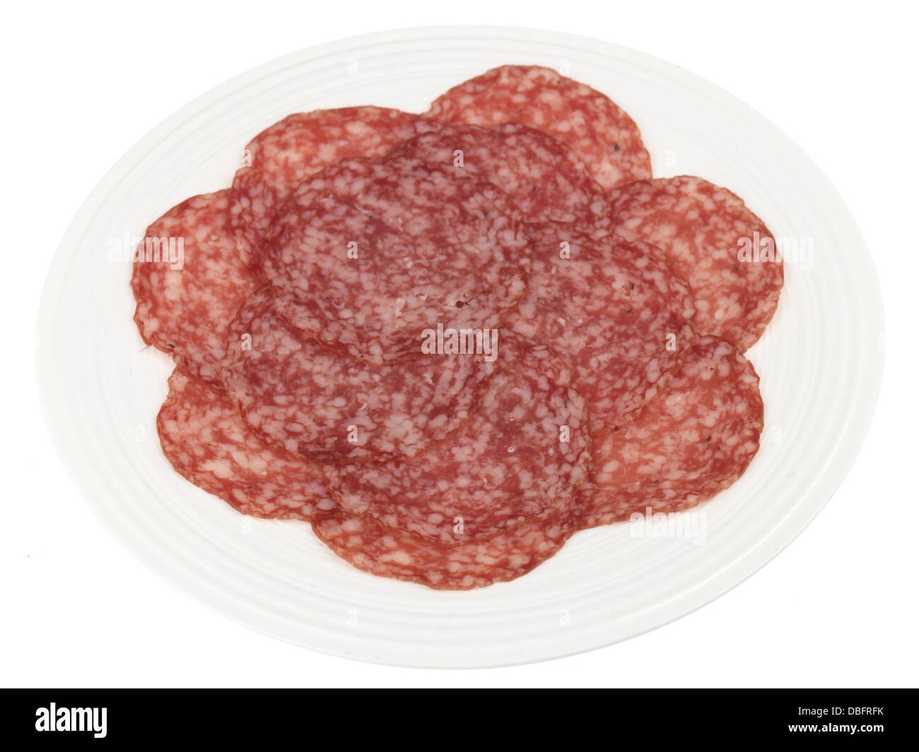 Milano Salami - Stock Image