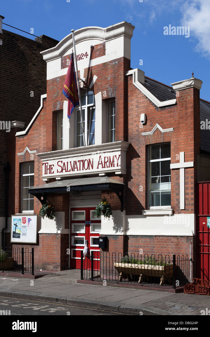 The Salvation Army on Portobello Road, Notting Hill, London W11 - Stock Image