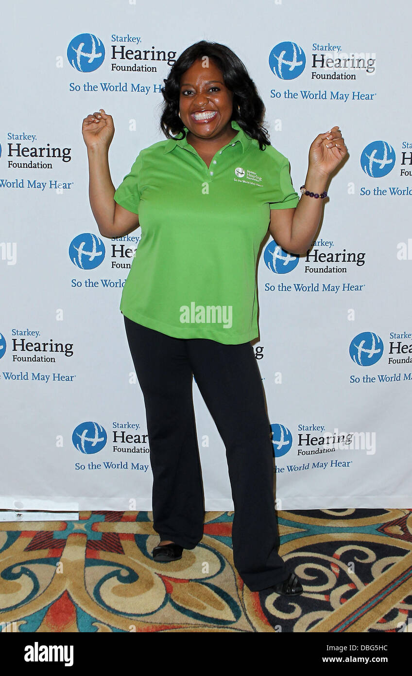 Sherrie Shepard Primetime and daytime stars join The Starkey Hearing Foundation in Las Vegas to deliver the 'GIFT OF HEARING' to children in need at The ...