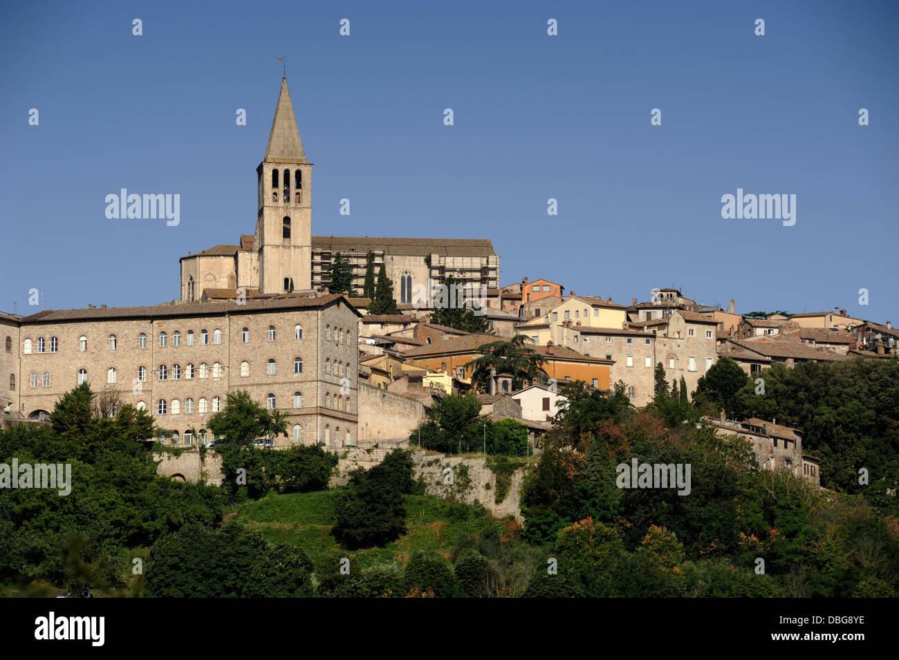 italy, umbria, todi - Stock Image