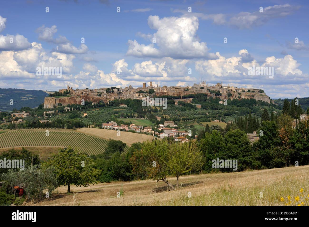 italy, umbria, orvieto - Stock Image