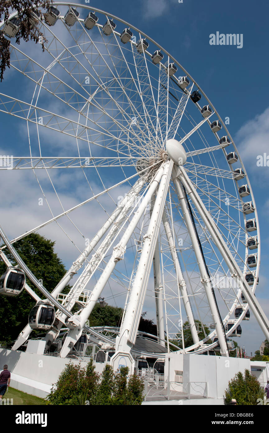 The Yorkshire Wheel, Wheel of York or York Wheel - Stock Image