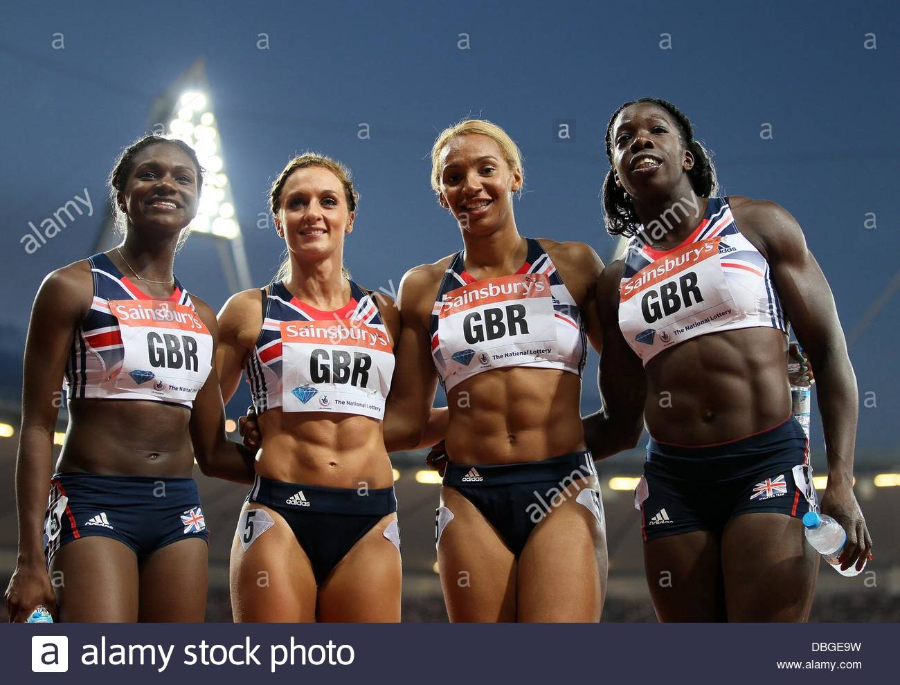 Annabelle lewis stock photos annabelle lewis stock images alamy london uk 26th july 2013 great britains womens 4 x 100m winners izmirmasajfo