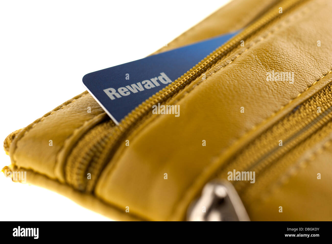 Reward card - Stock Image