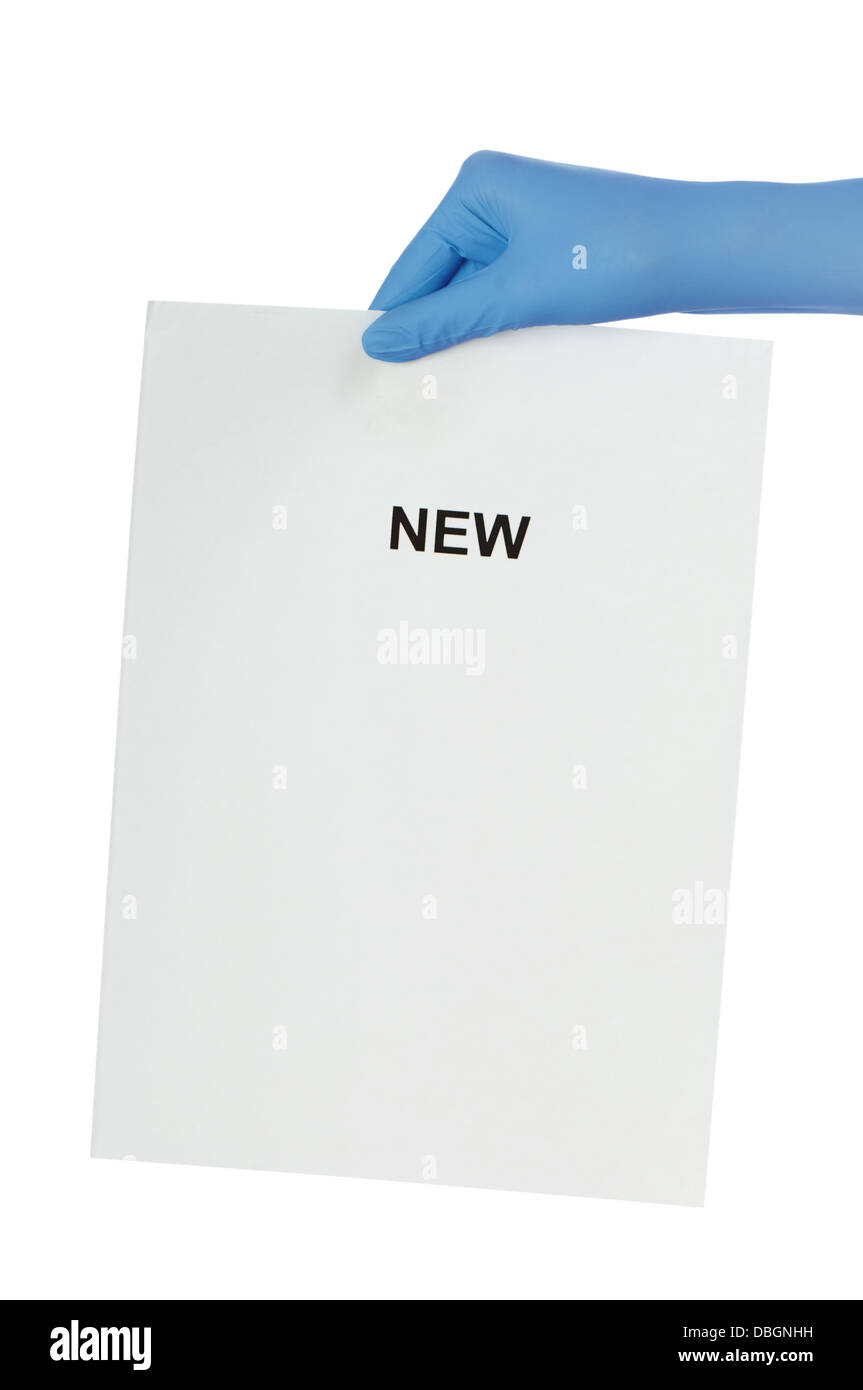 find new - Stock Image