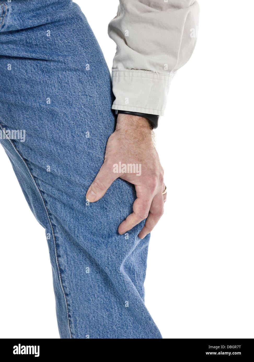 osteoarthritis pain - Stock Image