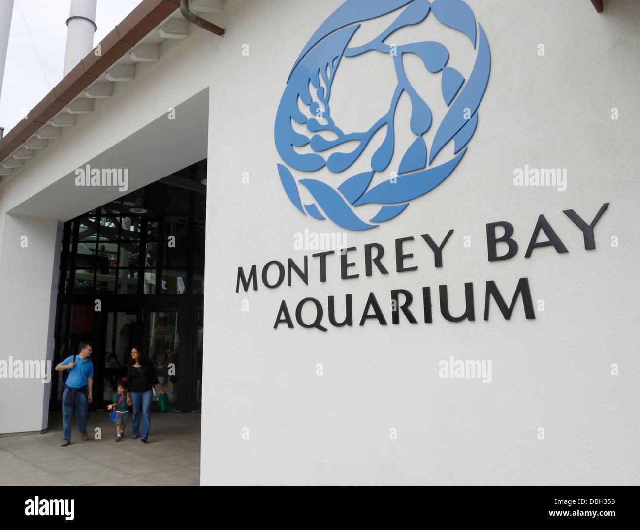 Monterey Bay Aquarium - Stock Image