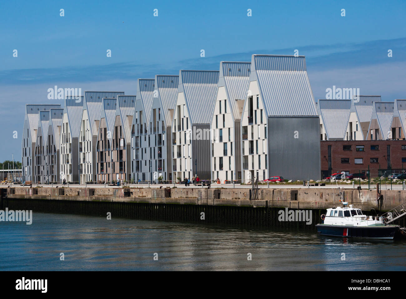 France nord french flanders dunkerque port view with modern stock photo 58775193 alamy - Dunkirk port france address ...