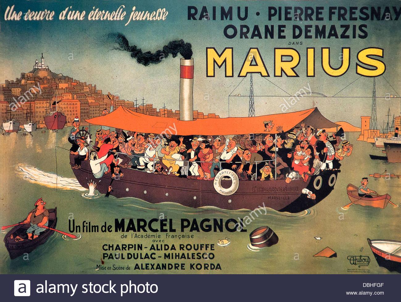 marius marcel pagnol