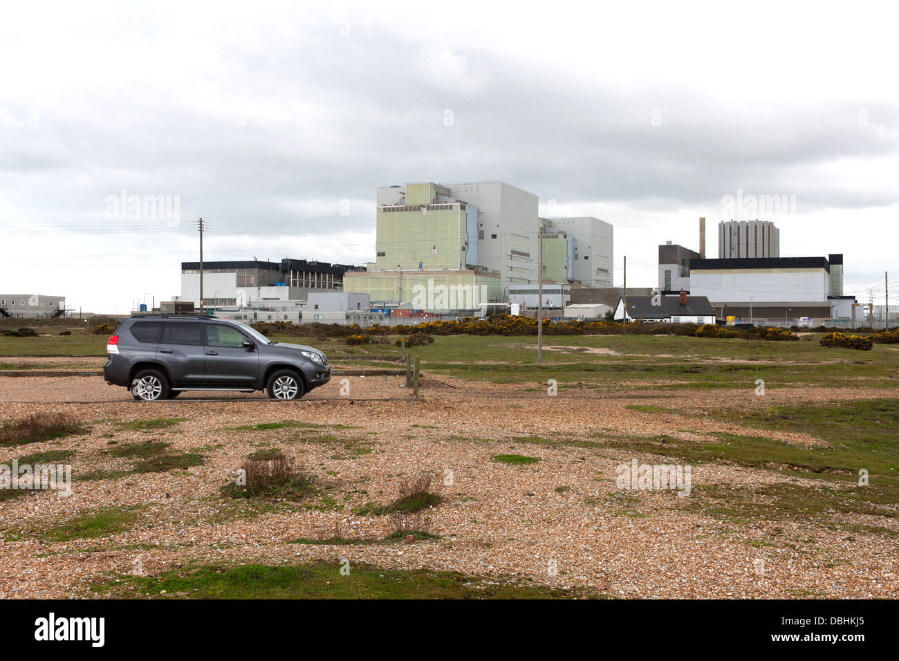 Nuclear Power Station at Dungeness Kent England - Stock Image