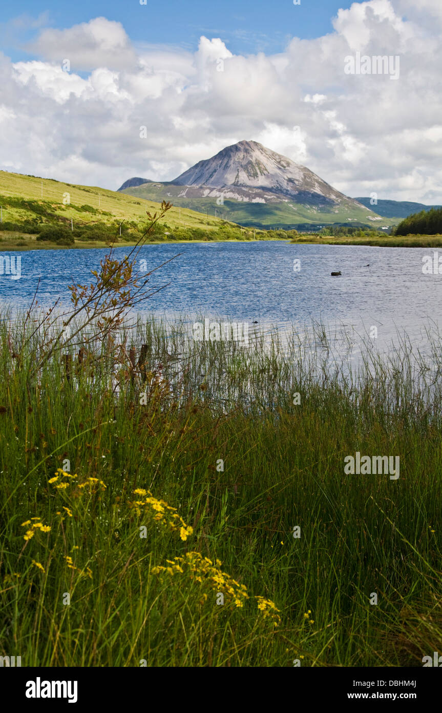 Mount Errigal County Donegal Ireland - Stock Image