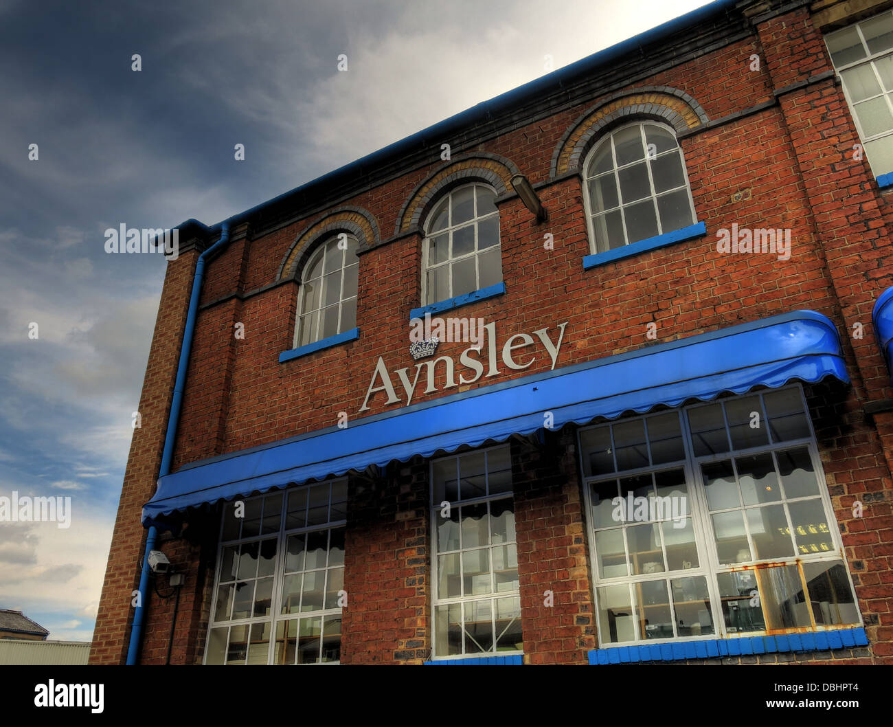 Aynsley Pottery Office, Longton, Stoke-on-trent, Staff, England - Stock Image
