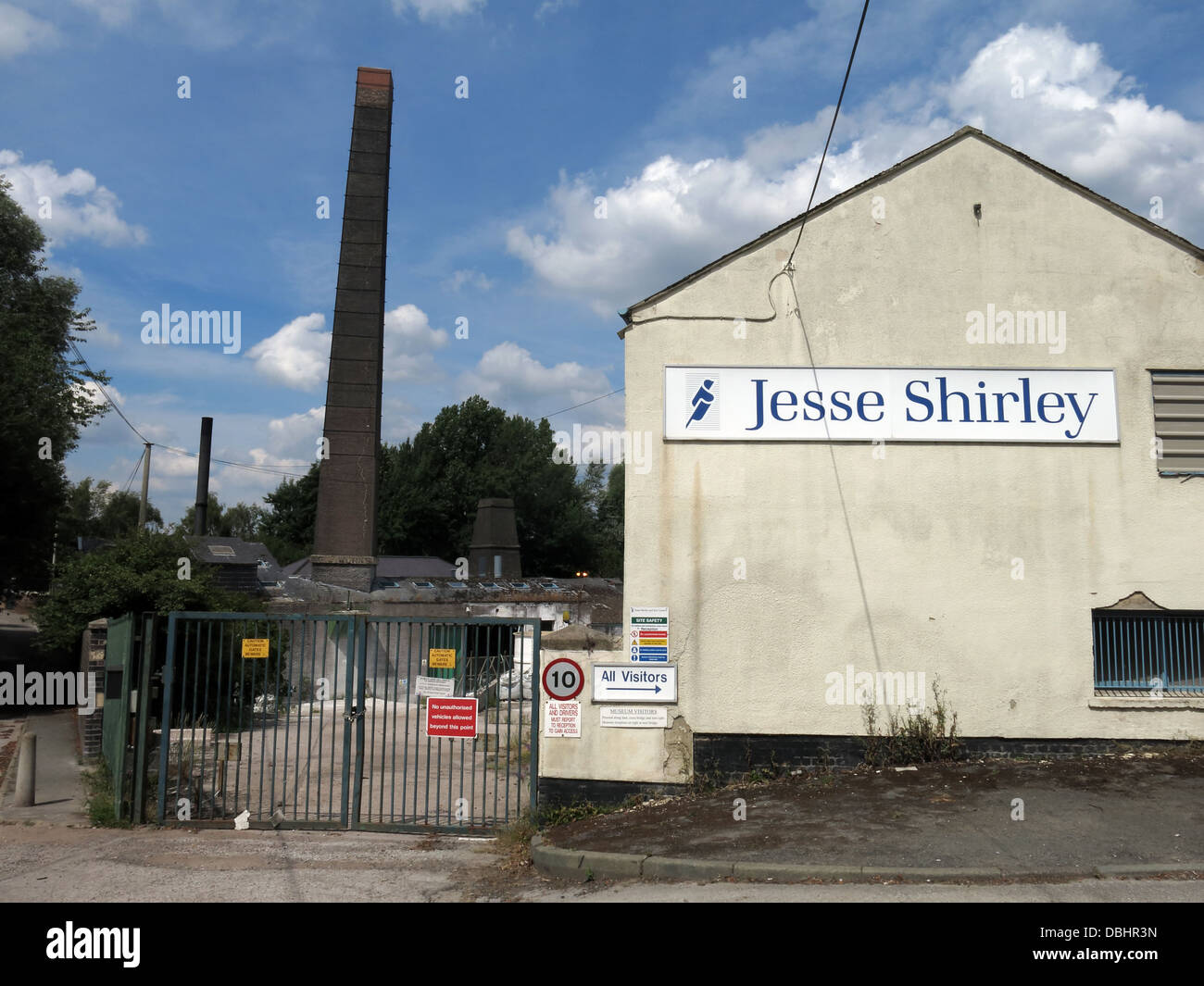 Jesse Shirley historic pottery firm whose company collapsed under crippling trading conditions in autumn 2011 - Stock Image