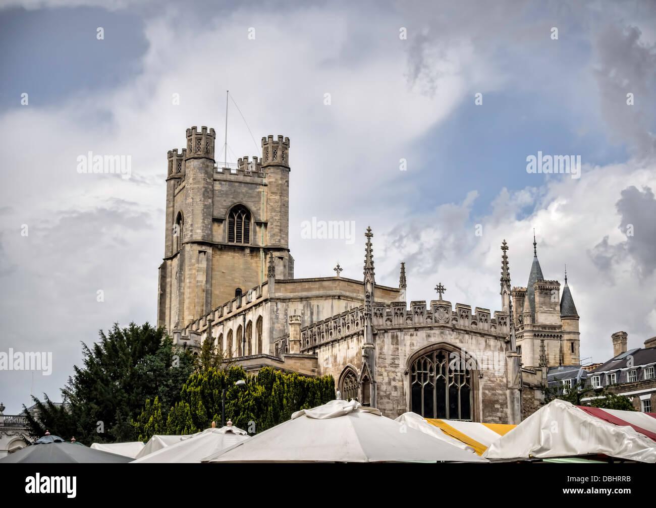 Great St Marys The University Church, Cambridge - Stock Image
