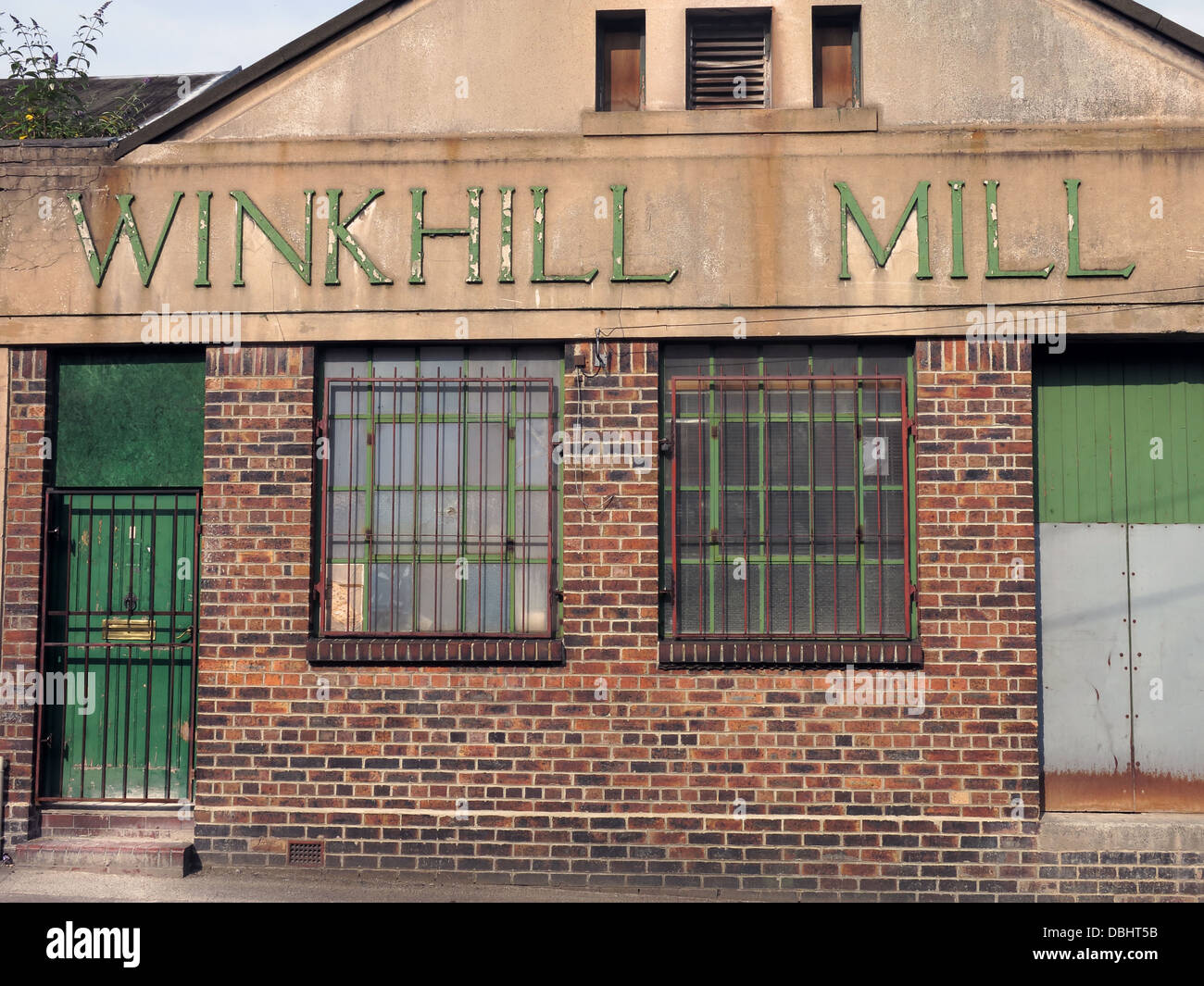 Winkhill Mill, Stoke on Trent, Staffs, UK - Stock Image
