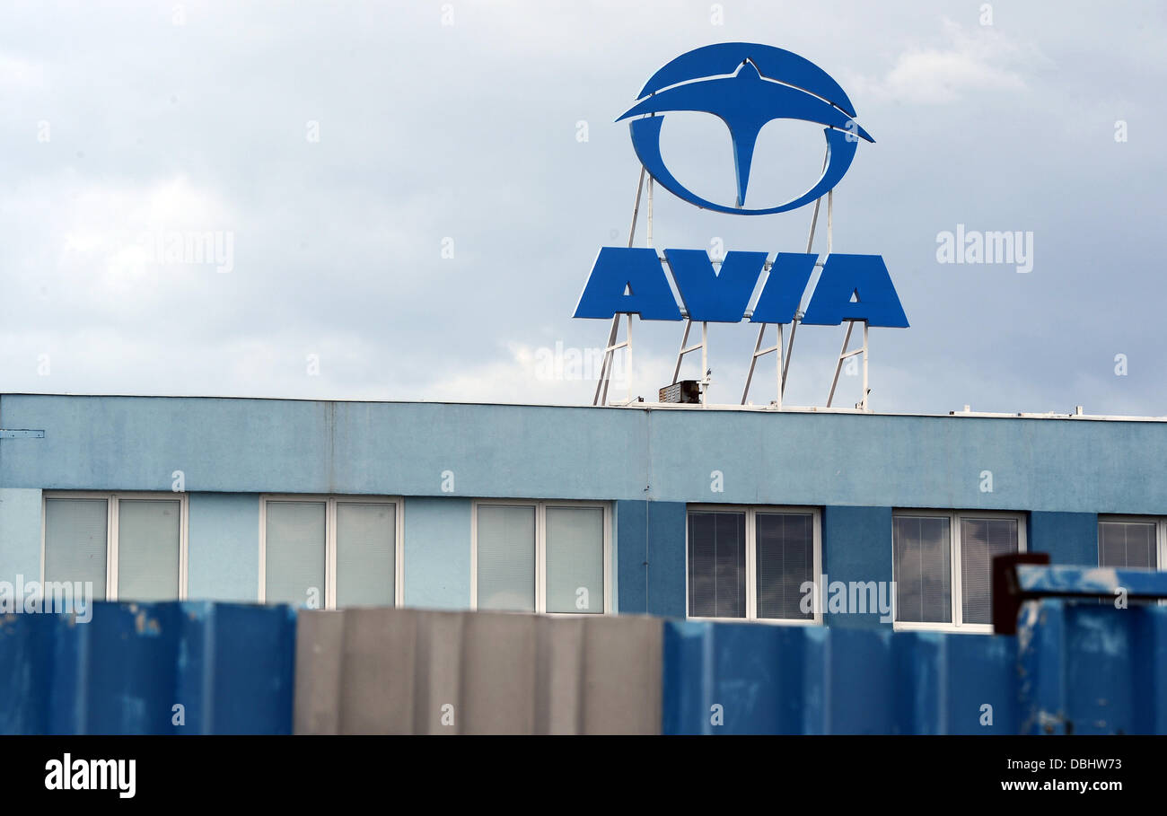 Czech aircraft and automotive company Avia ended its production of trucks after 66 years in Prague, Czech Republic, - Stock Image
