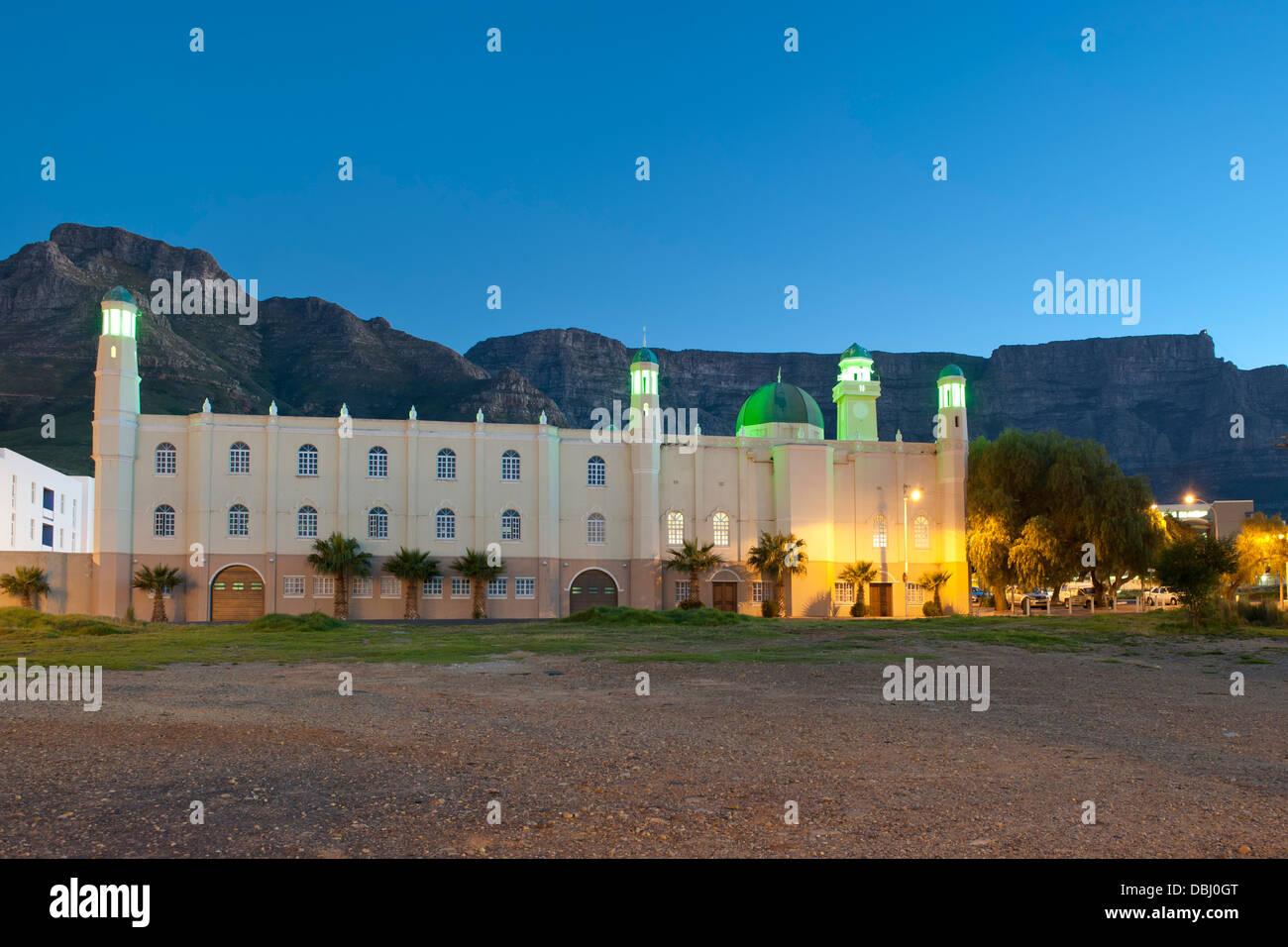 Zeenatul Islam Masjid mosque in the Zonnebloem district of Cape Town, South Africa. - Stock Image