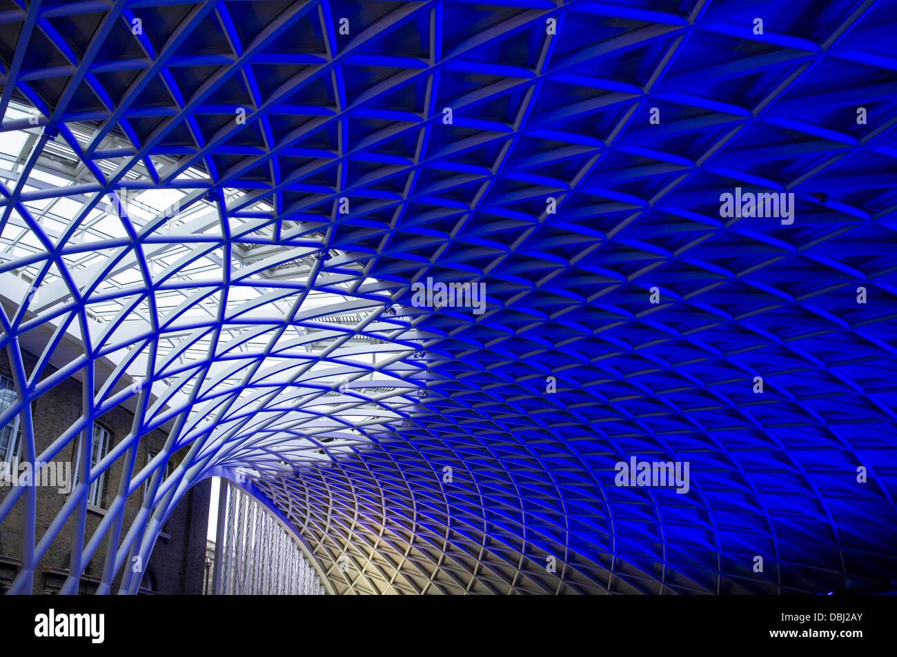 Kings Cross modern architecture - Stock Image
