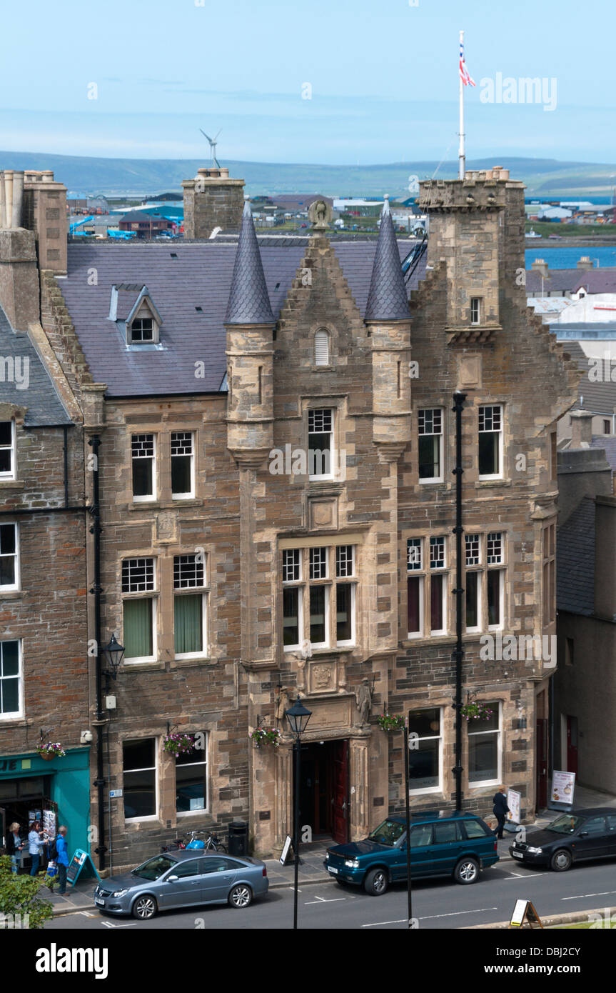 Kirkwall Town Hall and Community Centre, Orkney. - Stock Image