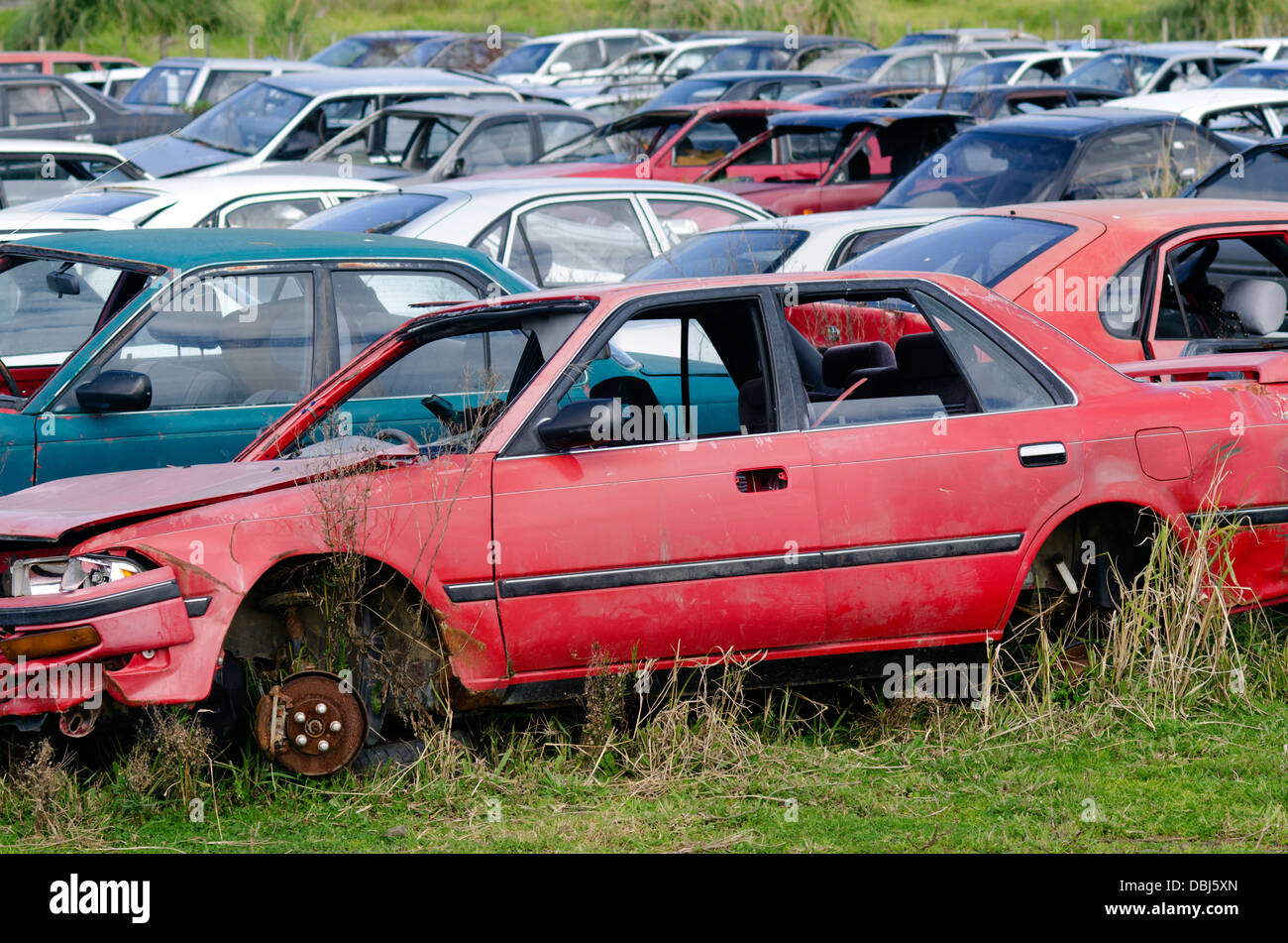 New Zealand Scrap Yard Stock Photos & New Zealand Scrap Yard Stock ...