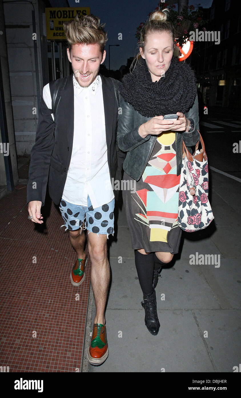 Henry Holland, at the Sophy Robson Salon Fashion launch party held ...