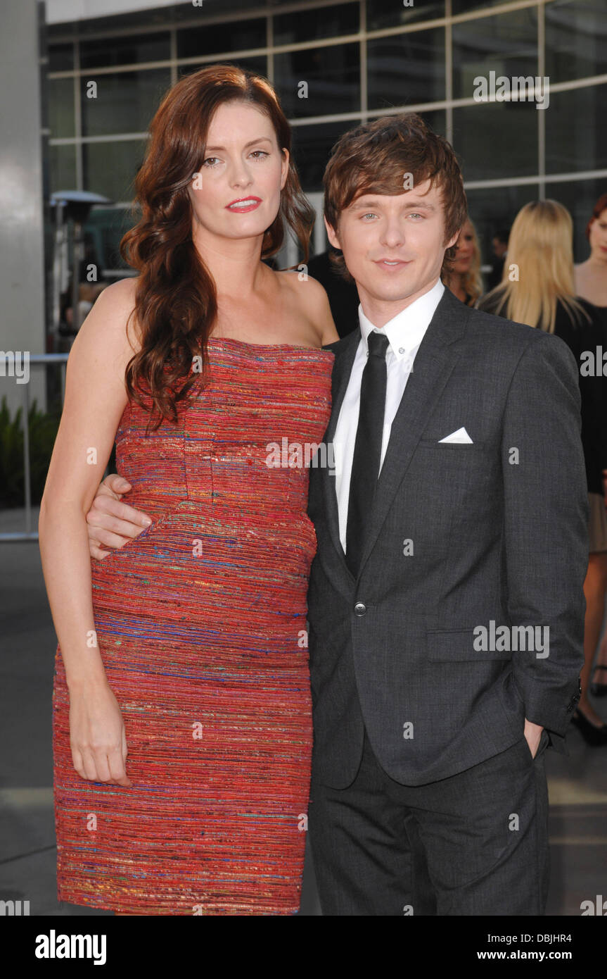 Anne Jamie, Marshall Allman  at the premiere of HBO's 'True Blood' Season 4 at ArcLight Cinemas Cinerama - Stock Image
