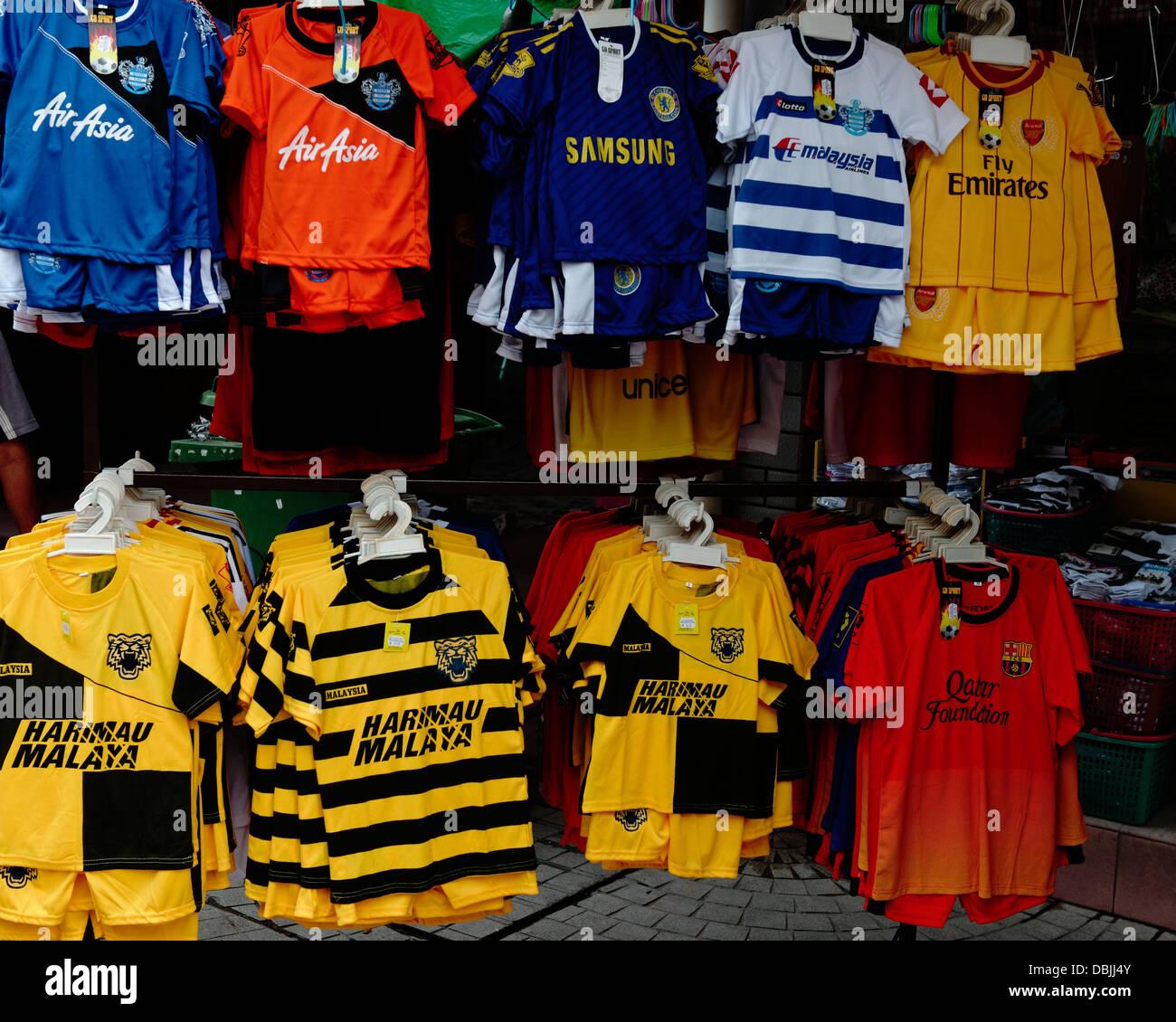 b48102915 Football Shirts Sale Stock Photos   Football Shirts Sale Stock ...
