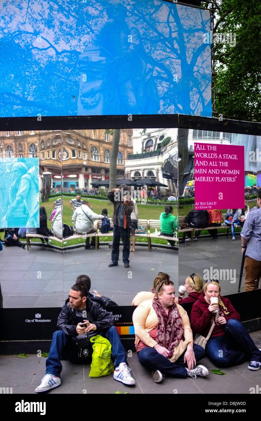 Leicester Square, London, United Kingdom Stock Photo