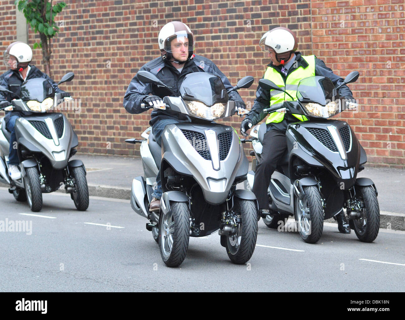 The launch of the new Piaggio MP3 Yourban scooter at The Hurlingham ...