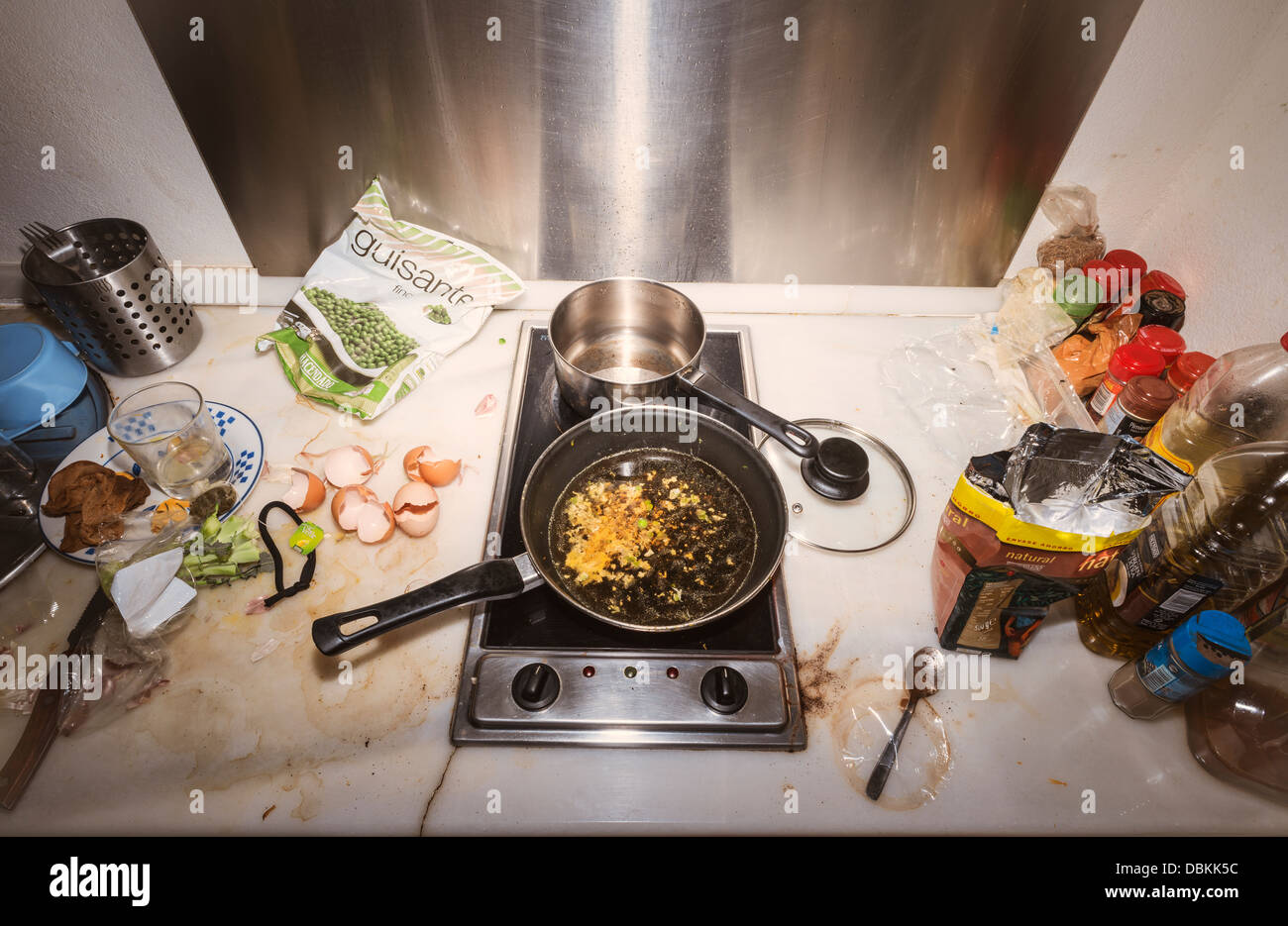 Dirty kitchen Stock Photo: 58824456 - Alamy on unhealthy kitchen, unkept kitchen, funny back in the kitchen, restaurant kitchen, wet kitchen, ugly kitchen, used kitchen, artisan kitchen, unsanitary kitchen,