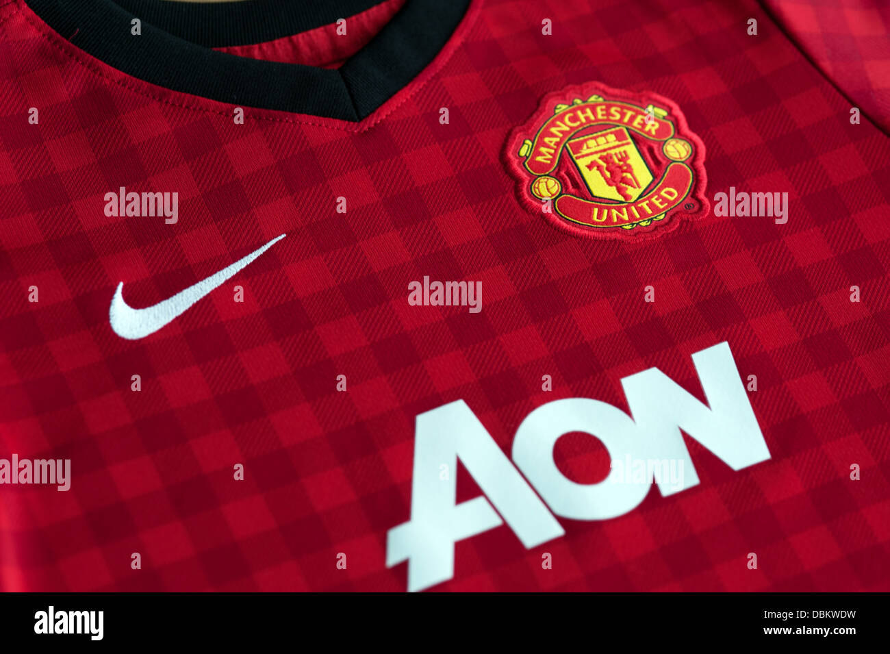 sale retailer 51ff6 dec16 Manchester United Replica Kit Stock Photo: 58829397 - Alamy