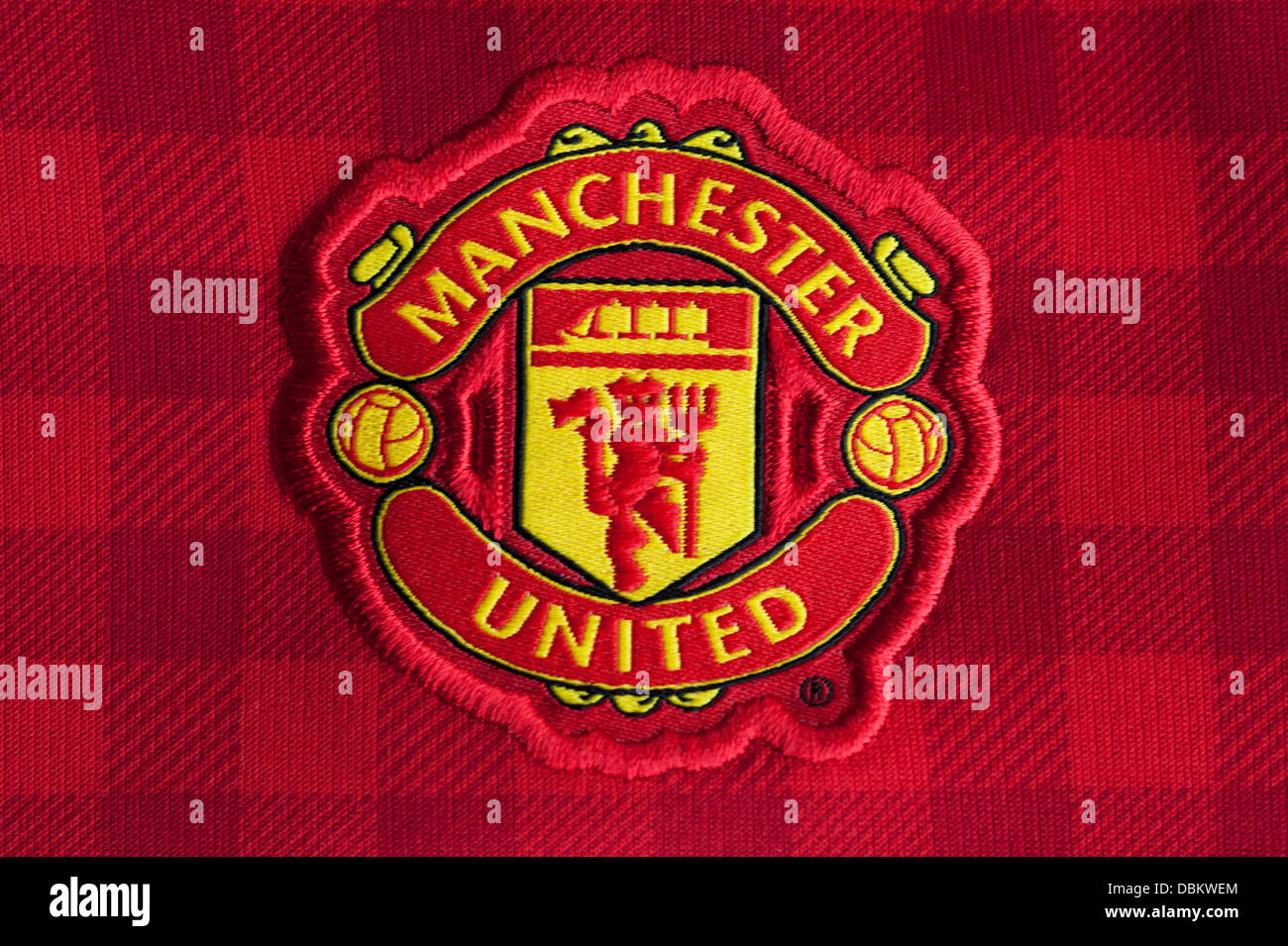 Manchester United Football Club Crest Stock Photo 58829420