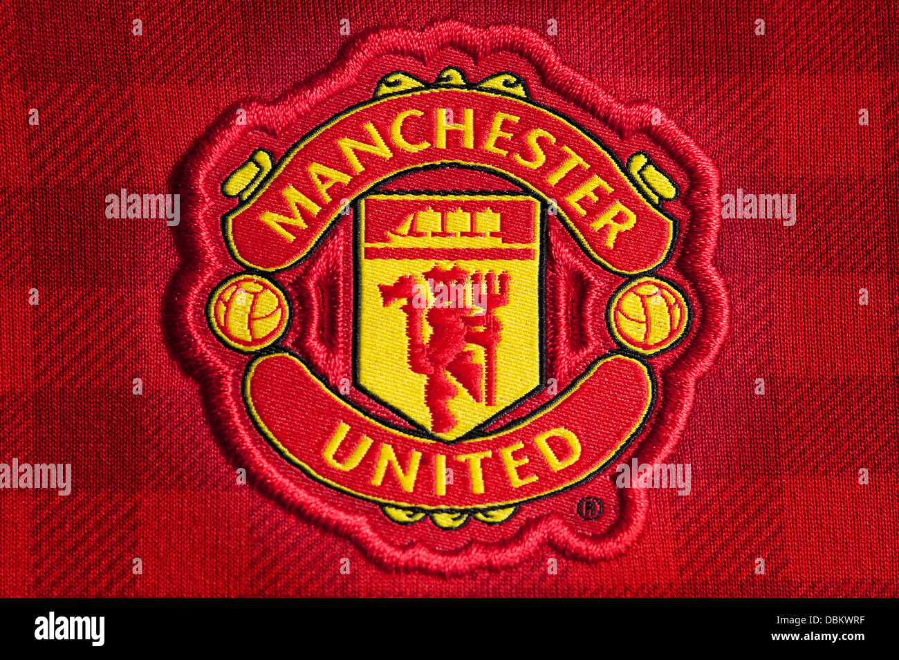 Manchester United Football Club Crest Stock Photo 58829667