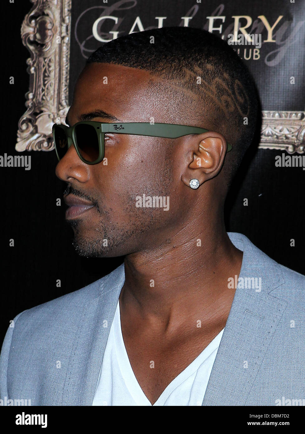 Ray J arrives at Gallery Nightclub qt Planet Hollywood Resort and Casino ahead of his live performance Las Vegas, - Stock Image