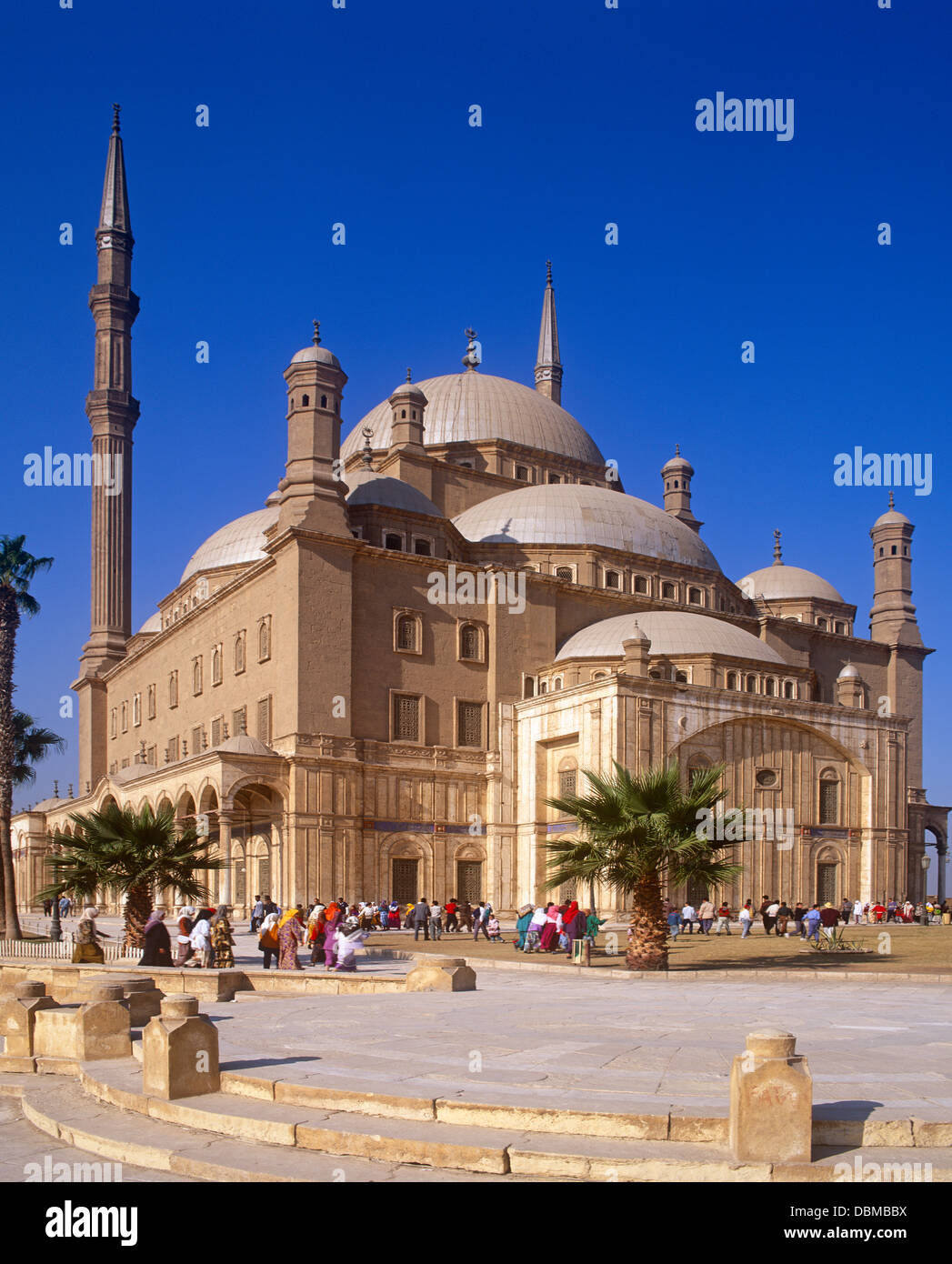 Muhammad Ali Mosque, Cairo, Egypt - Stock Image