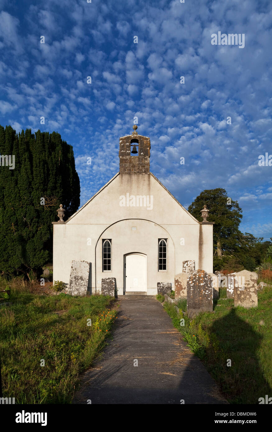 Redundant Church of Ireland church, built 1747 Fiddown, County Kilkenny, Ireland - Stock Image