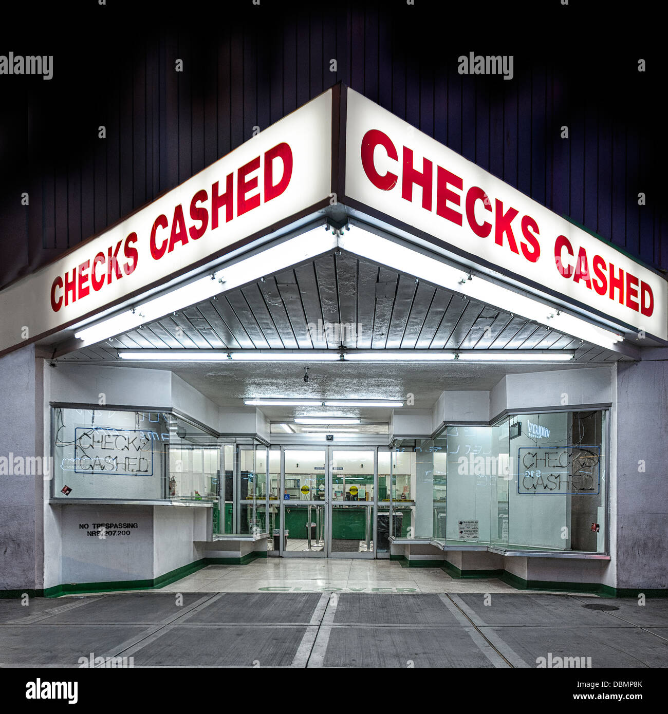 Check Cashing Stock Photos & Check Cashing Stock Images - Alamy